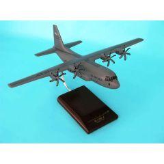 C-130j Hercules 1/100 (AC130jt)  Mahogany Aircraft Model
