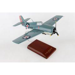 F4F-4 Wildcat Usn 1/32 (AF4ft)  Mahogany Aircraft Model
