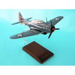 SBD-5 Dauntless Usn 1/32 (asbdt)  Mahogany Aircraft Model