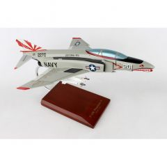 F-4n Phantom II Usn 1/48 (CF004nt) Mahogany Aircraft Model
