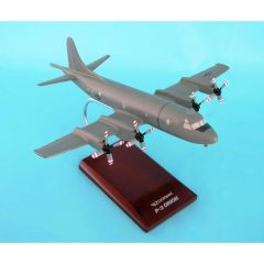 P3c Orion Usn (low Vis) 1/85 (AP03lvtr) Mahogany Aircraft Model