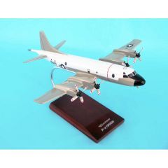 P3c Orion Usn (white/Grey) 1/85 (AP03tr) Mahogany Aircraft Model