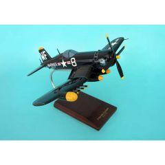 F4U-5nl Nite-Corsair Usmc 1/32 (AF4U5nlt) Mahogany Aircraft Model