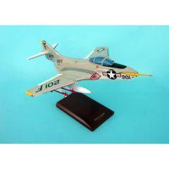F9F-8 Cougar Usn 1/32 (CF009nct) Mahogany Aircraft Model
