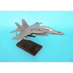 F/A-18f Super Hornet Usn 1/48 (CF018ftr) Mahogany Aircraft Model