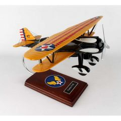 P6e Hawk 1/20 Usn (AP06)  Mahogany Aircraft Model