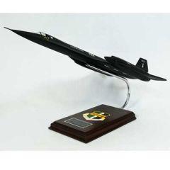 SR-71 Blackbird Signed by Bob Gilland Model