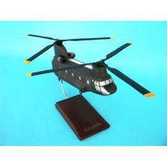 CH-47d Chinook 1/48 (HCH47t)  Mahogany Aircraft Model