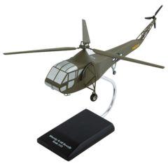 Sikorsky R-4 Hoverfly 1/32 (HSR4t) Mahogany Aircraft Model