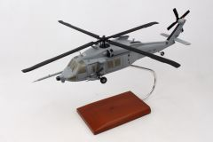 HH-60W 1/40 COMBAT RESCUE Mahogany Aircraft Model