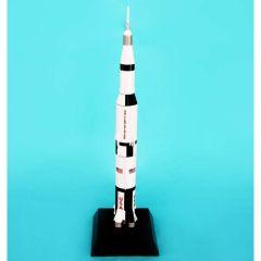 Saturn V Rocket 1/200 (KYNS5t) Mahogany Aircraft Model