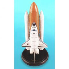 Space Shuttle Full Stack 1/200 Discovery (kynasaltp) Mahogany Aircraft Model