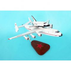 AN-225 Dream W/Shuttle 1/200 (KYNRAN25)Mahogany Aircraft Model