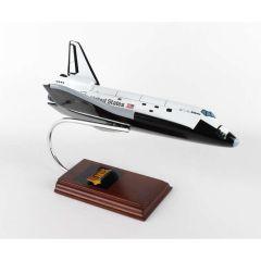 Space Shuttle Atlantis 1/100 W/Working Cargo Doors(xkynocbd) Mahogany Aircraft Model