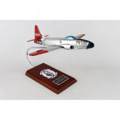 P-80a Shooting Star 1/32 (AP80te) Mahogany Aircraft Model