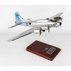 B-17G FLYING FORTRESS 1/54 SENTIMENTAL JOURNEY (AB1) Mahogany Movel