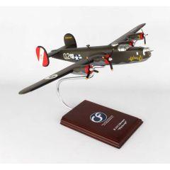 B-24j Witchcraft 1/60 (AB24wts) Mahogany Aircraft Model