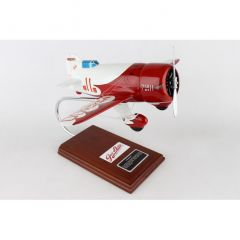 Gee-Bee R1 1/20 (kgbte) Mahogany Aircraft Model