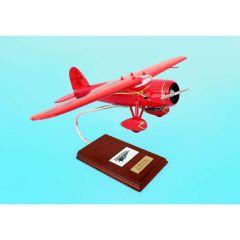 Vega 1/24 (klcvte) Mahogany Aircraft Model