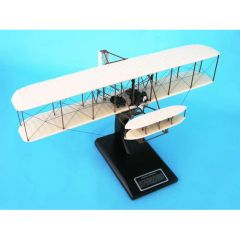 "Wright Flyer ""Kitty Hawk"" 1/24 (kwfte) Mahogany Aircraft Model"