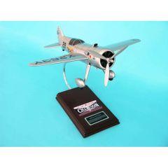 LTR-14 Meteor Laird Turner 1/20 (KLTR14mte) Mahogany Aircraft Model