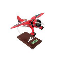 Hall's Springfield Racer 1/20 (khbrte) Mahogany Aircraft Model