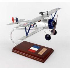 Nieuport 17c 1/20 (FFN17te) Mahogany Aircraft Model