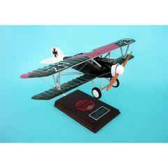 """Albatross D-V """"Goring"""" 1/20 (FGD5te) Mahogany Aircraft Model"""