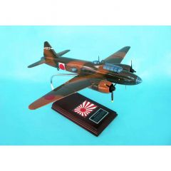 G4M3 Betty 1/48 (fjbte) Mahogany Aircraft Model