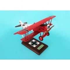 Fokker Dvii (D7) Fighter (red) 1/20 (FGFD7te)  Mahogany Aircraft Model