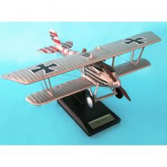 Pfalz Diii Fighter 1/20 (FGPD3te)  Mahogany Aircraft Model