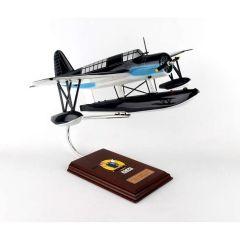 O2SU-3/5 Kingfisher 1/24 (AOS2ute)  Mahogany Aircraft Model