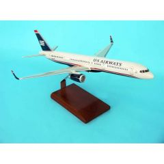 Usairways 757-200 (reg# N605au) 1/100 (KB757USA4tr)  Aircraft Model