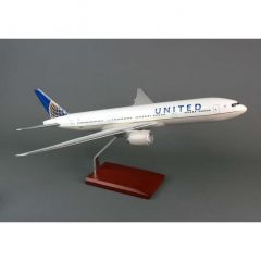 United 777-200 1/100 Post Continental Merger (KB777cautr)   Aircraft Model
