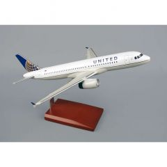 United A320 1/100 Post Continental Livery (KA320cautr)  Mahogany Aircraft Model
