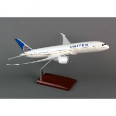 United 787-8 1/100 Post Continental Merger (KB787cautr)  Aircraft Model