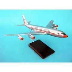 American 707 1/100 (KB707aat) Mahogany Aircraft Model