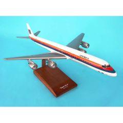 United DC-8-71/73 1/100 (KDC8uat) Mahogany Aircraft Model