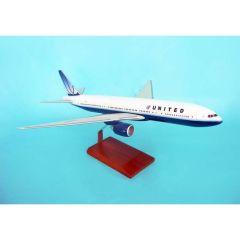 United 777-200 1/100 2009 Livery (KB777UA2tr)  Aircraft Model