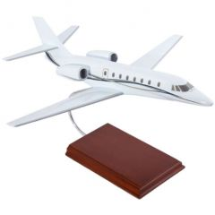 Cessna Citation Sovereign House 1/40 (kccs)  Mahogany Aircraft Model