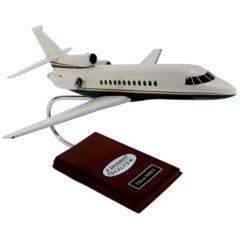 Falcon 900ex 1/48 (KF900t)  Mahogany Aircraft Model