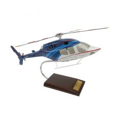 Bell 429 1/30 Helicopter Mahogany Aircraft Model