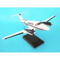 King Air B200 House Colors 1/32 (KBB200satr) Mahogany Aircraft Model