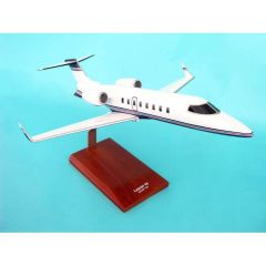 Learjet 45 1/35 (KL45tr) Mahogany Aircraft Model