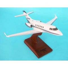 Hawker 850xp Execujet 1/48 (KH850tr) Mahogany Aircraft Model