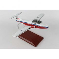 Snowbirds CT114 Tutor 1/32 Mahogany Aircraft Model