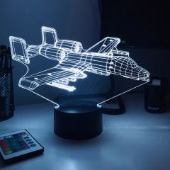 A10 Warthog 3D Aircraft Color Changing Lamps