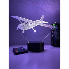 Cessna 172 3D Aircraft Color Changing Lamps