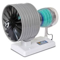 Turbofan Jet Engine Model Kit with Sound