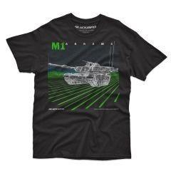 M-1 ABRAMS BATTLE TANK Blackbird T-Shirt